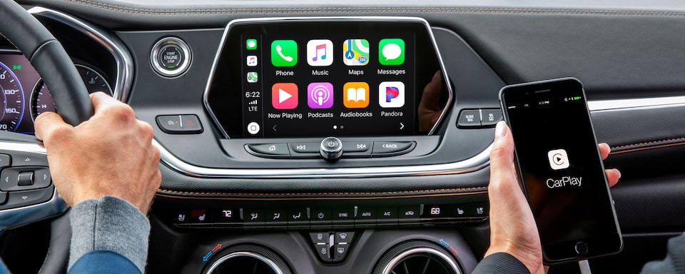Chevrolet Blazer Apple CarPlay.