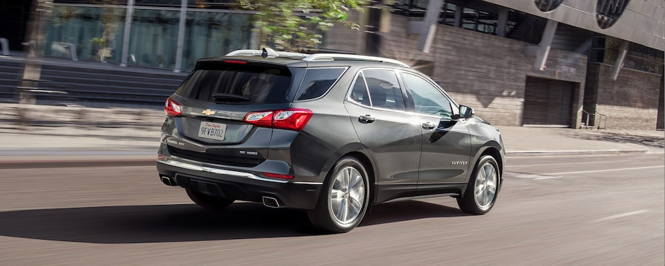 2021 Chevrolet Equinox compact SUV Rear Side View.