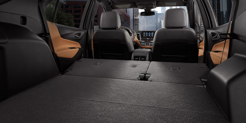 Cargo space in the 2020 Chevrolet Equinox.