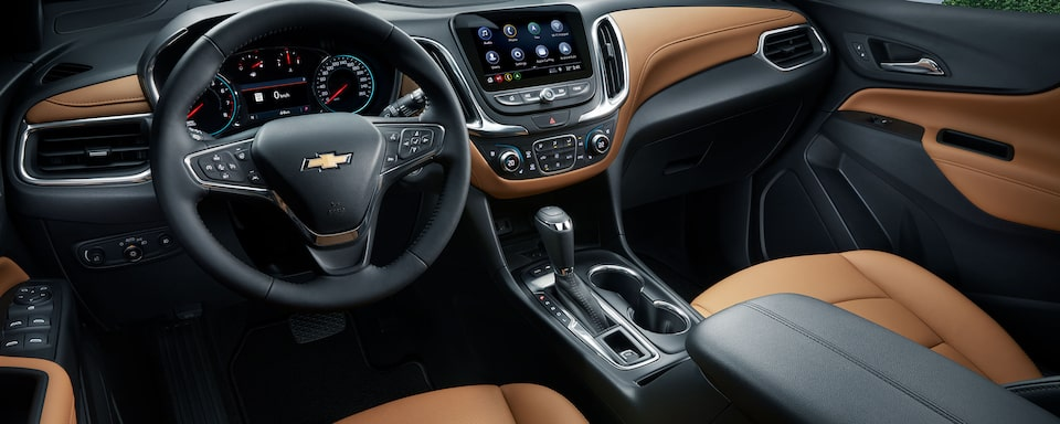 The 2020 Chevrolet Equinox offers purposeful and intuitive technology.