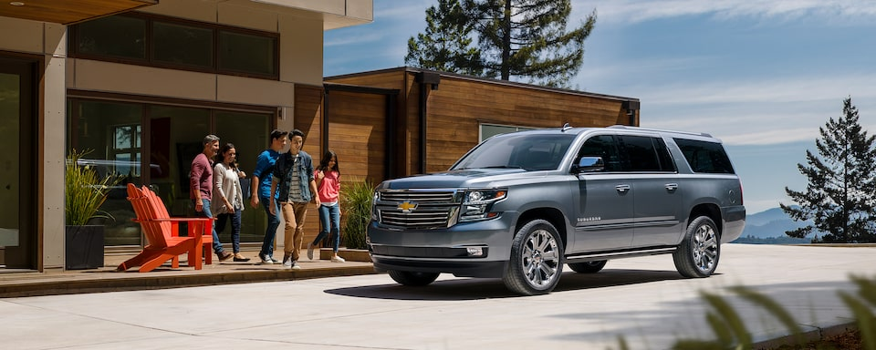 2020 Suburban Large SUV Design: Family &Friends Vehicle.
