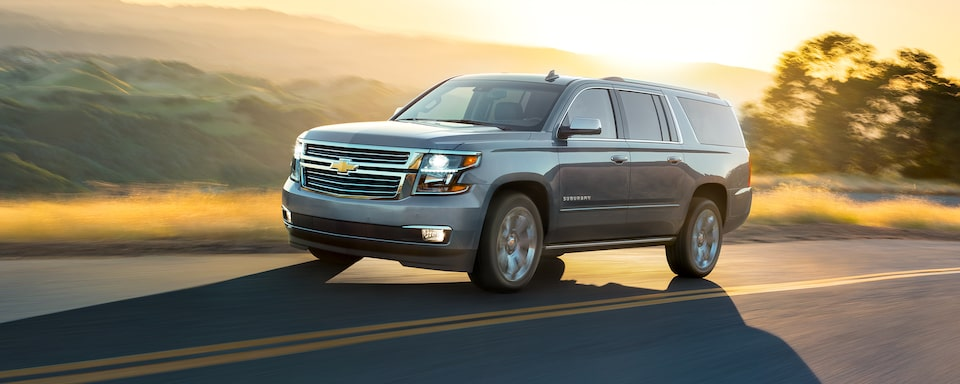 2020 Suburban Large SUV Design: Road Trip Front View.