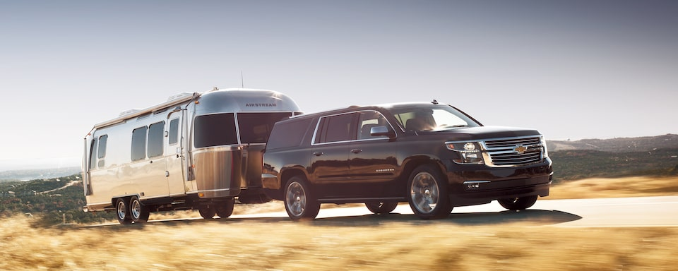 Chevrolet Suburban Large SUV Performance: Towing.