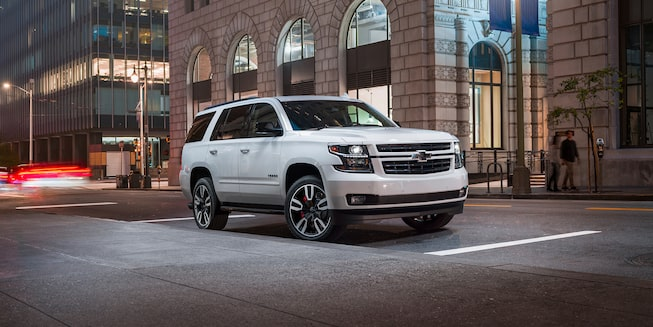 2020 Chevrolet Tahoe Full-Size SUV RST Edition Front Side Exterior.
