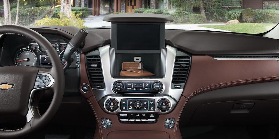 2020 Chevrolet Tahoe Full-Size SUV Hidden Lockable Storage Compartment.