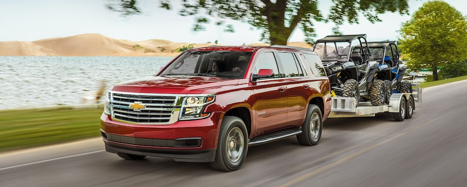 2020 Chevrolet Tahoe Full-Size SUV Towing.