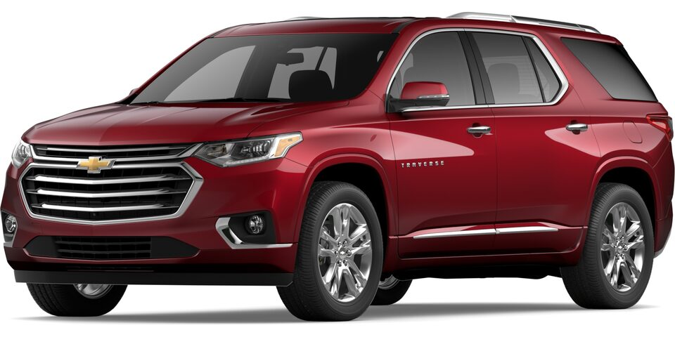 2019 TRAVERSE IN CAJUN RED TINTCOAT