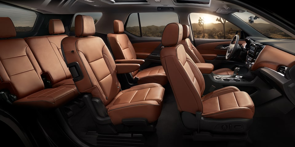 2020 Chevrolet Traverse Mid-Size SUV 3 Row Seating