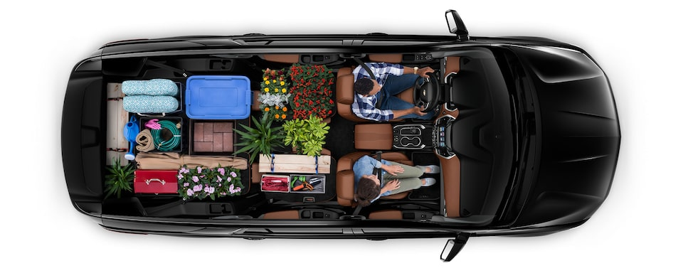 2020 Traverse Mid Size SUV Cargo: home improvement