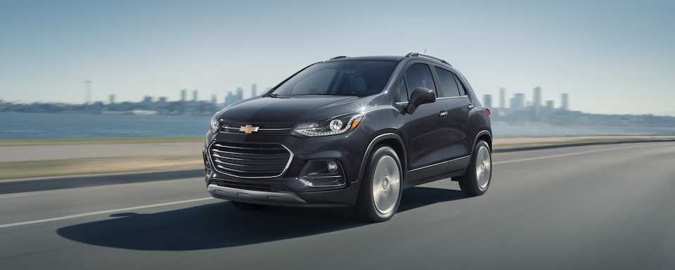 2020 Chevy Trax Compact SUV Front Side View.