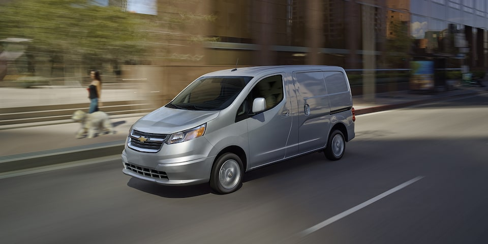 Discontinued Chevrolet City Express.