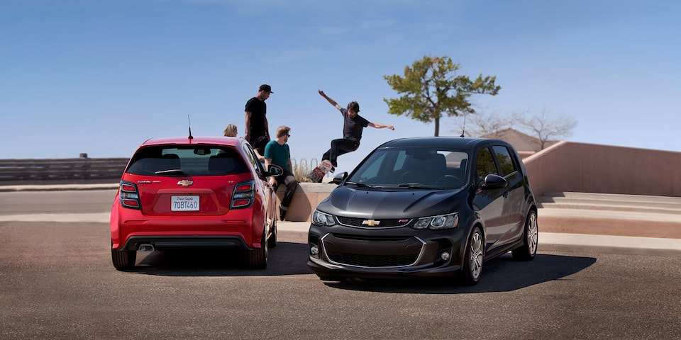Discontinued Chevrolet Sonic.