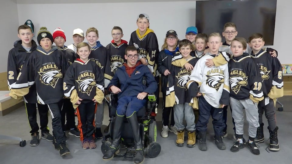 Northeast Eagles Peewee C All Stars Good Deeds Cup Video.