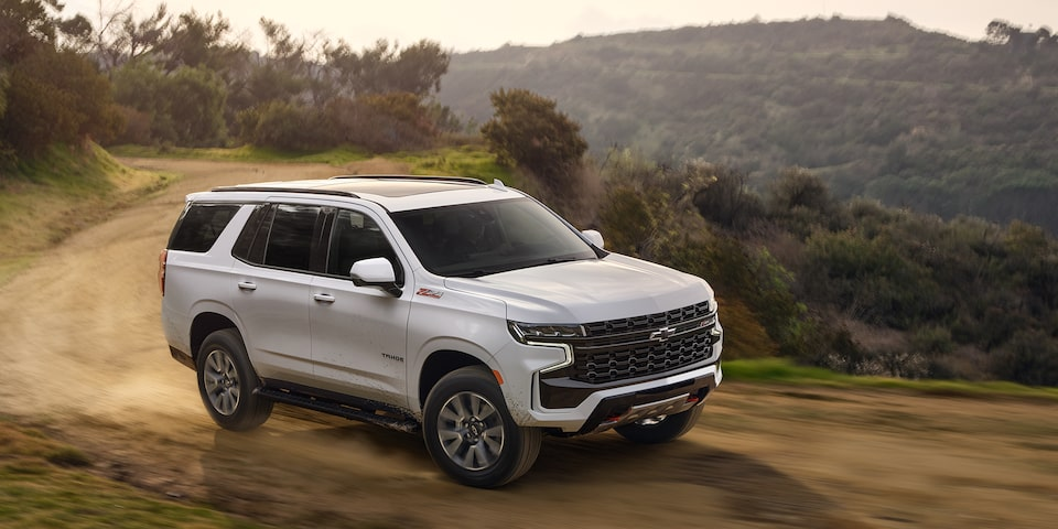 The All New 2021 Tahoe
