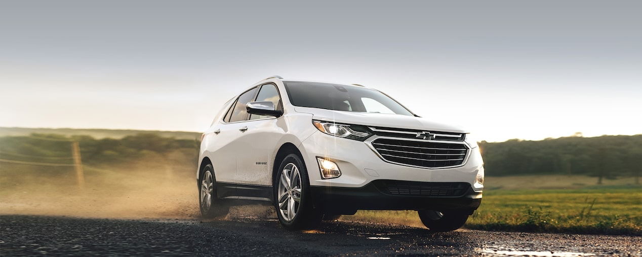 Exterior of the 2019 Chevrolet Equinox.