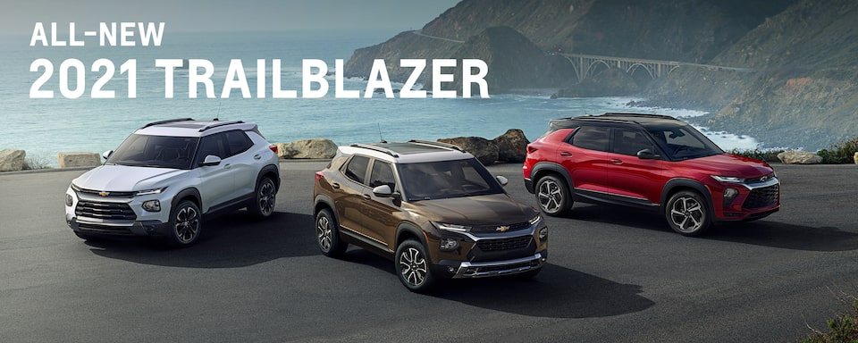 The All-New 2021 Trailblazer line-up