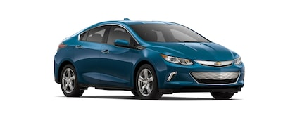 Exterior profile of the 2019 Chevrolet Volt.
