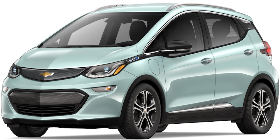2019 BOLT EV IN GREEN MIST METALLIC