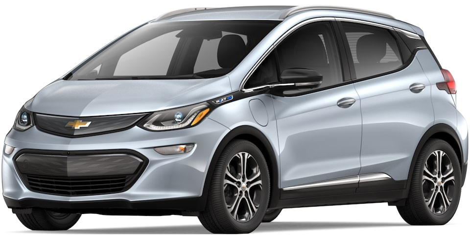 2019 BOLT EV IN SILVER ICE METALLIC