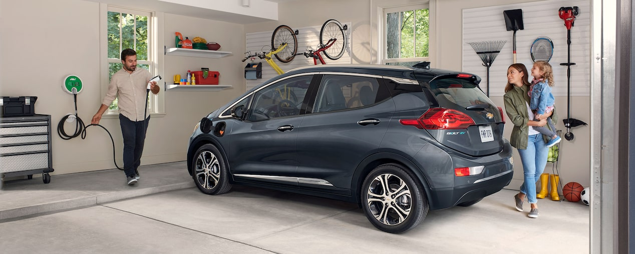 Charging your 2019 Chevrolet Bolt EV is as easy as plugging in your smartphone.
