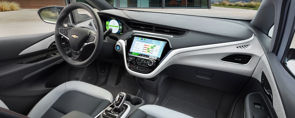 2020 Bolt EV Electric Car Design: Front Seats.