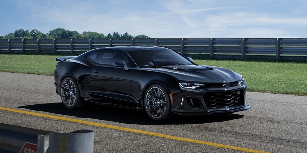 Front view of 2019 Camaro ZL1.