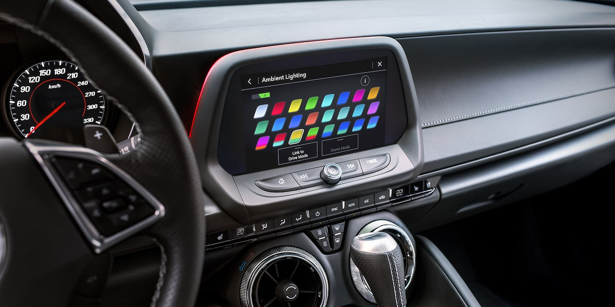 2019 Camaro: Interior Spectrum Lighting.