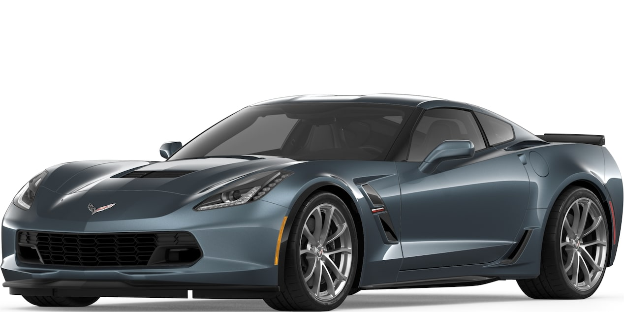 2019 CORVETTE GRAND SPORT IN SHADOW GREY METALLIC