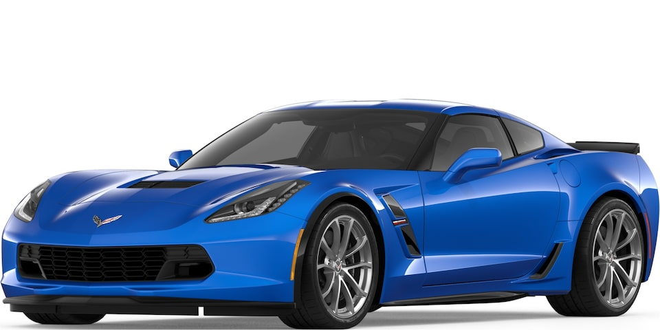 2019 CORVETTE GRAND SPORT IN ELKHARD LAKE BLUE METALLIC