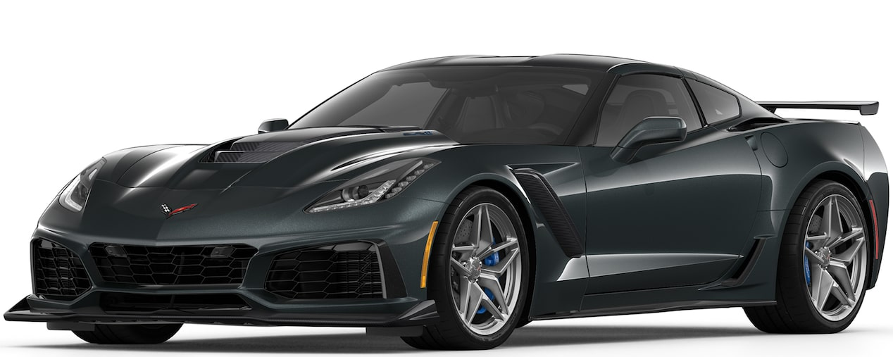 2019 CORVETTE ZR1 IN WATKINS GLEN METALLIC