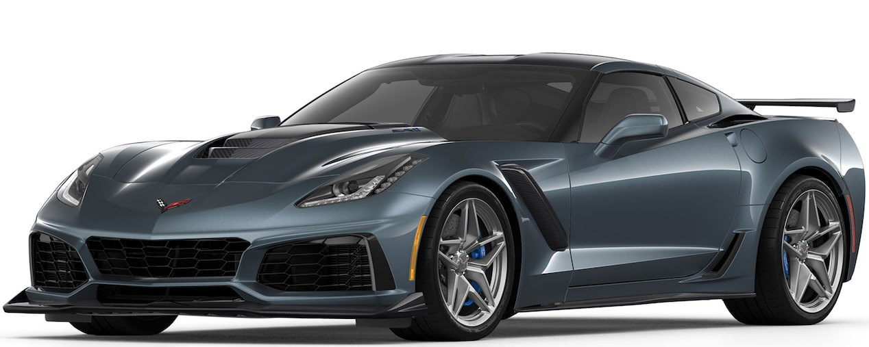 2019 CORVETTE ZR1 IN SHADOW GREY METALLIC