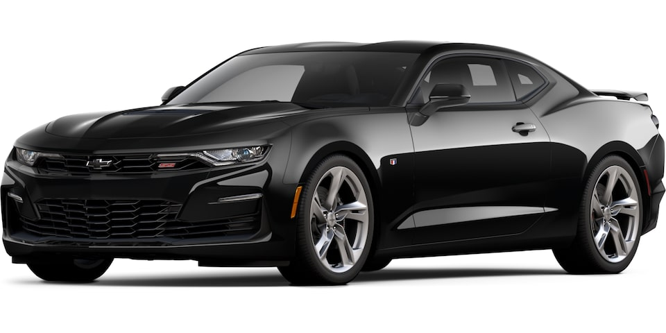 2021 Camaro in Black.