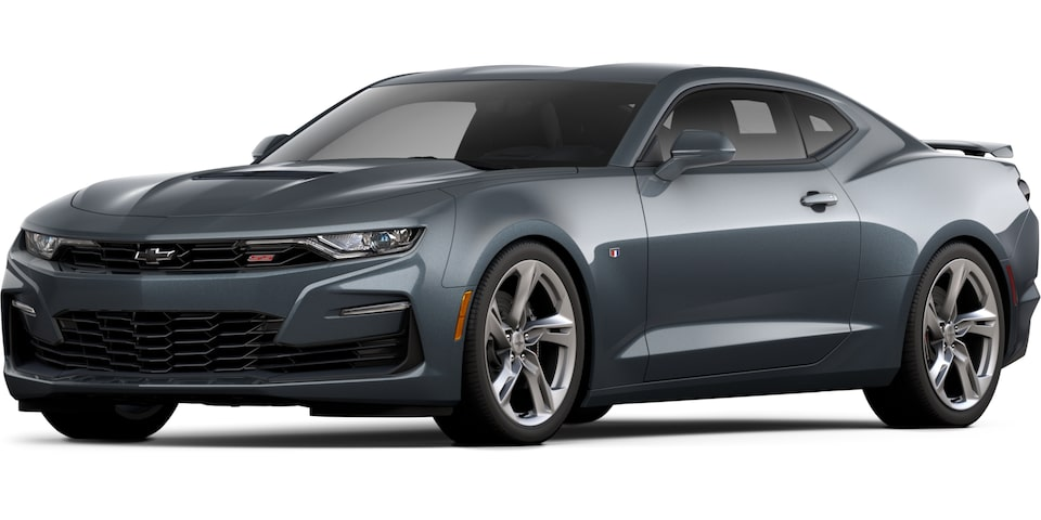 2021 Camaro in Shadow Grey Metallic.