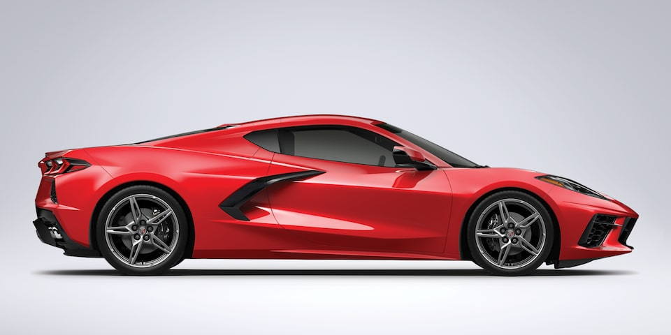 2021 Chevrolet Corvette Mid-Engine Sports Car Body Structure.