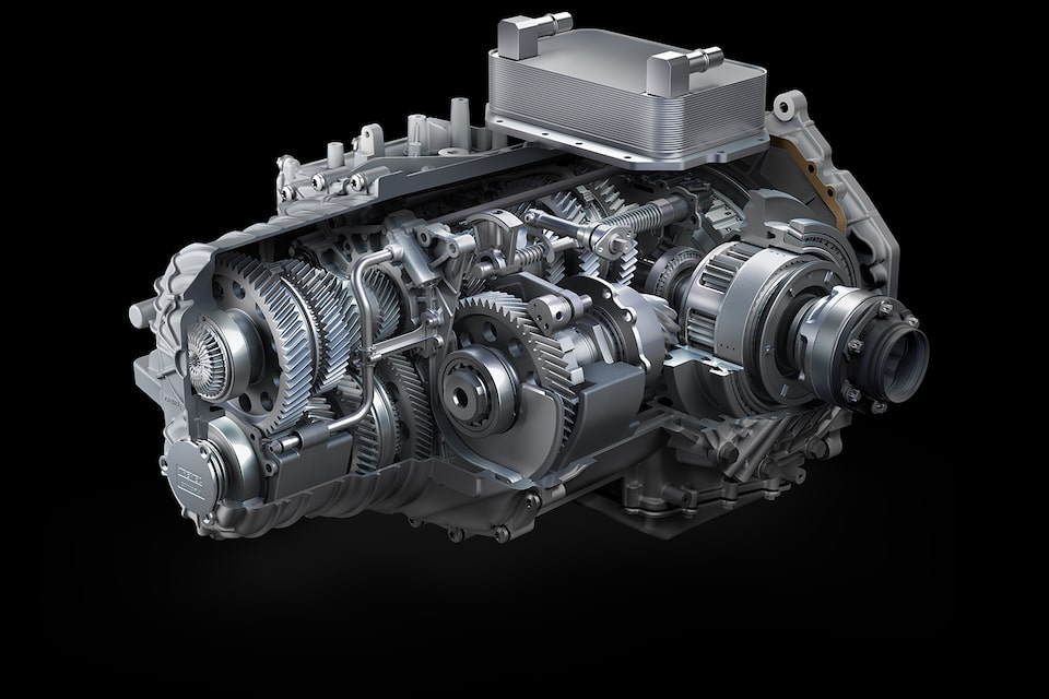 Dual Clutch Transmission Of The 2021 Corvette.