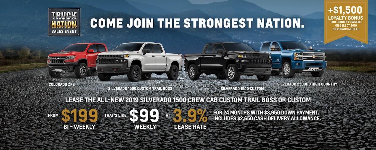 Chevrolet Canada | Cars, Trucks, SUVs, Crossovers & Vans