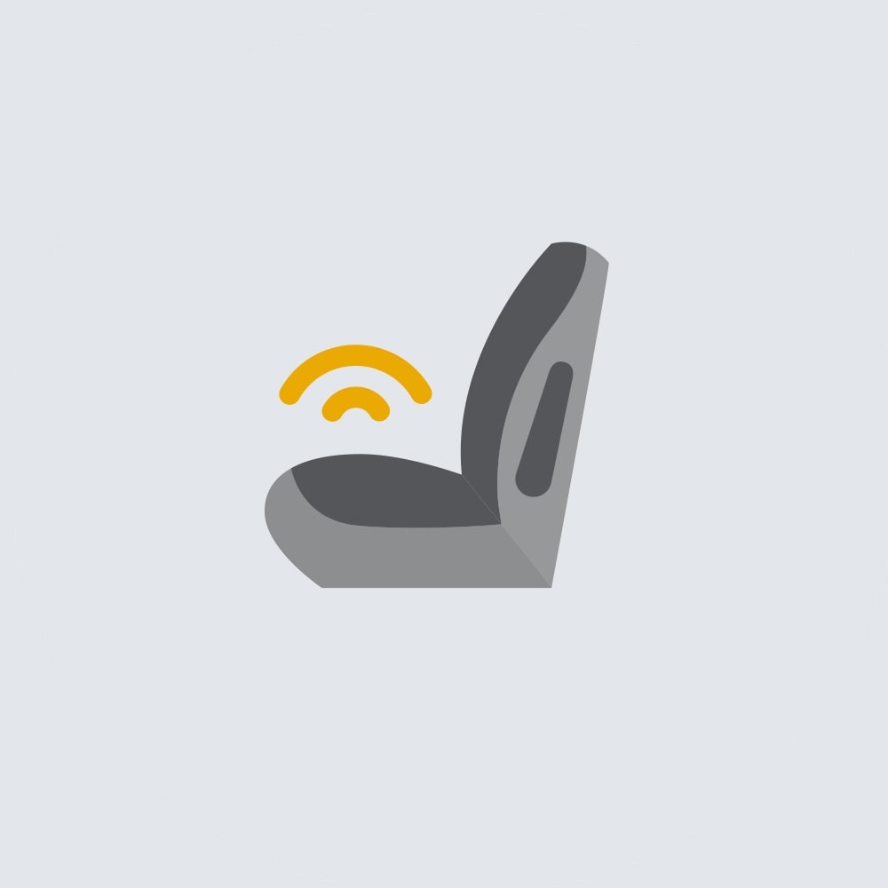 Safety Alert Seat Icon