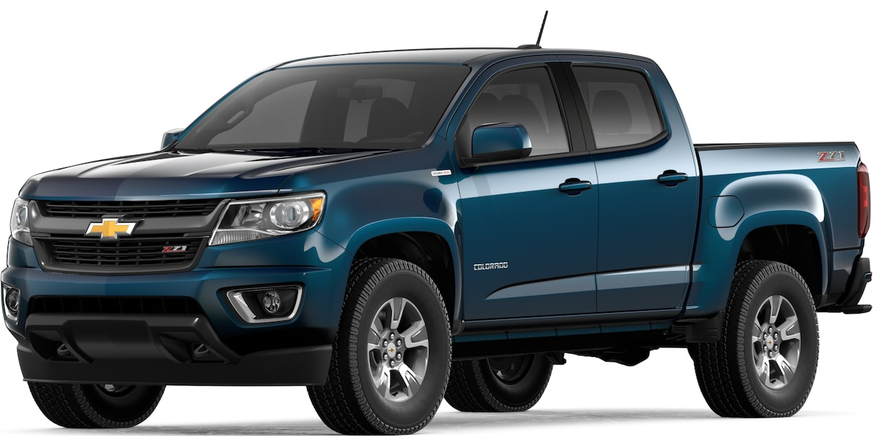2019 COLORADO IN PACIFIC BLUE METALLIC