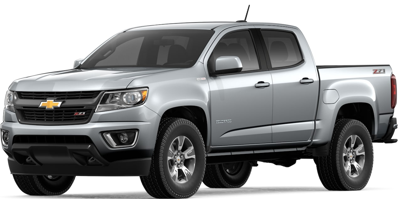 2019 COLORADO IN SILVER ICE METALLIC