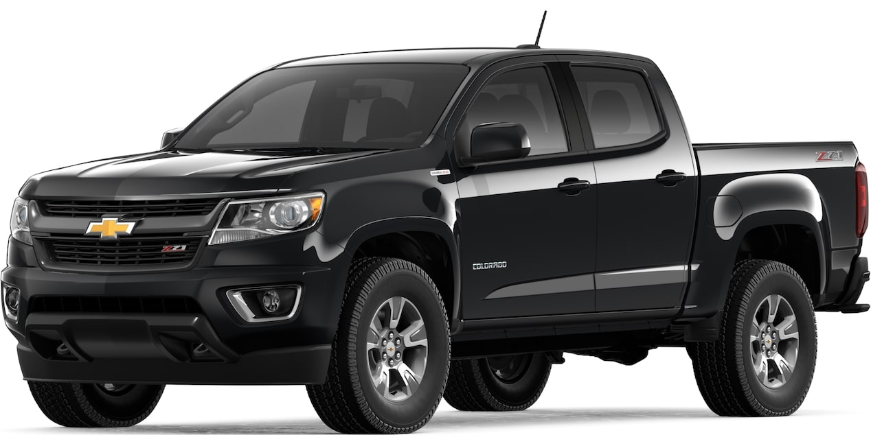 2019 COLORADO IN BLACK
