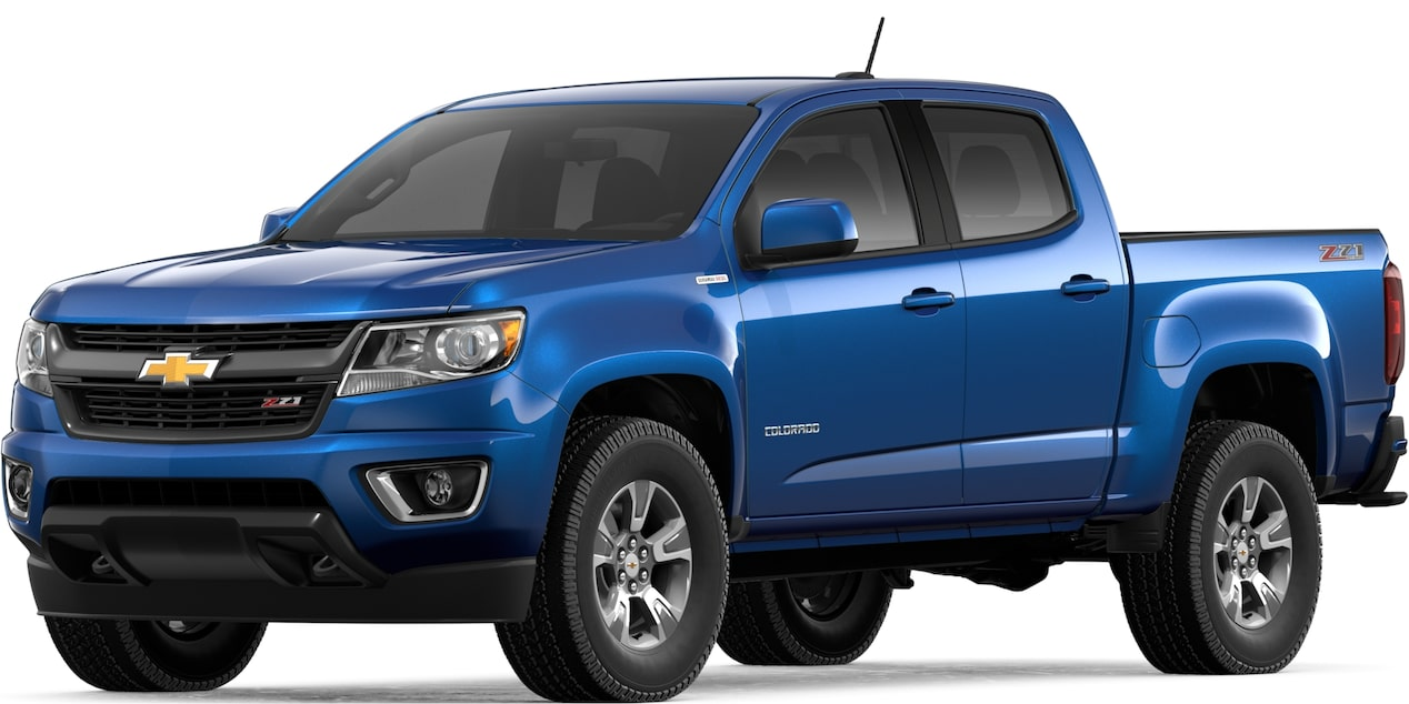 2019 COLORADO IN KINETIC BLUE METALLIC