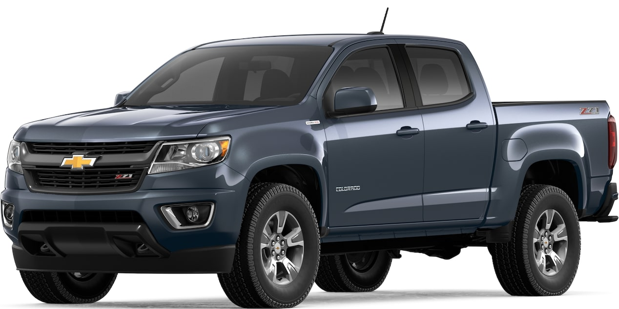 2019 COLORADO IN SHADOW GRAY METALLIC