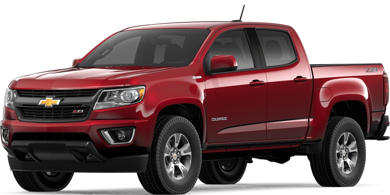 2019 COLORADO IN CAJUN RED TINTCOAT