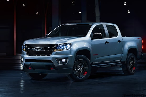 Le Chevrolet Colorado 2019 série Distinction.