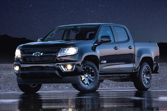 Le Chevrolet Colorado 2019.