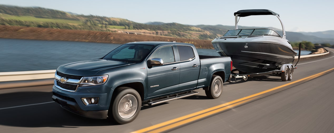 2019 Colorado performance: towing.