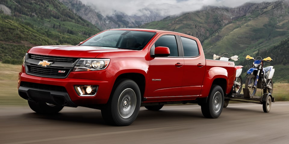 The 2019 Colorado mid-size pickup truck offers more available horsepower and towing capability than the competition.