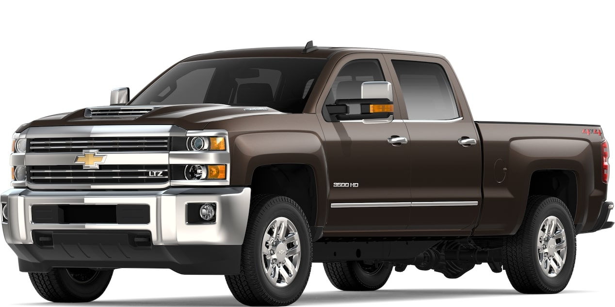 2019 SILVERADO 2500HD IN HAVANA BROWN METALLIC
