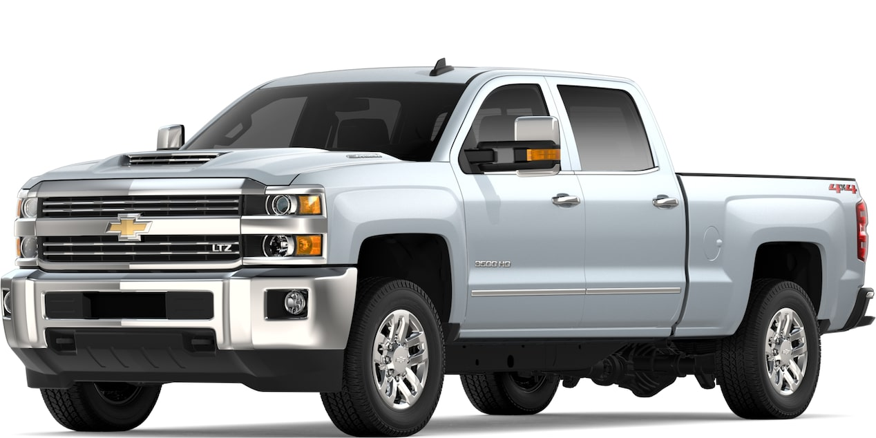 2019 SILVERADO 2500HD IN SILVER ICE METALLIC