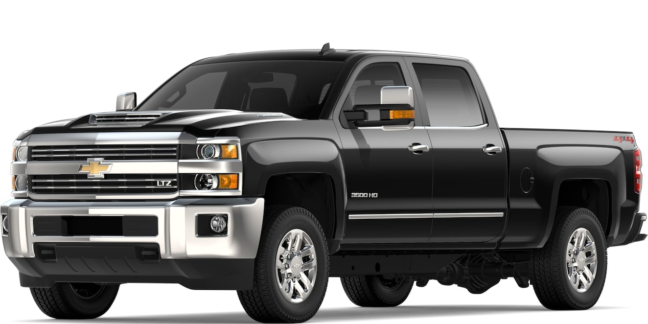 2019 SILVERADO 2500HD IN BLACK